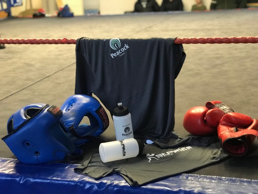 Peacock Finance Sponsors Boxing Club Kit Case Study 2