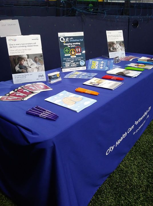 Promoting Healthy Messages For City Health Care Partnership (CHCP)